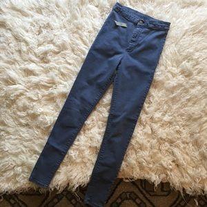 TOPSHOP Joni super high waisted jeans